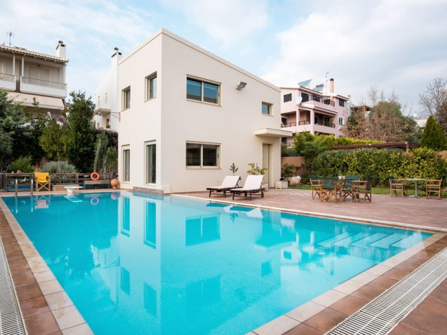 Athens Riviera Pool House